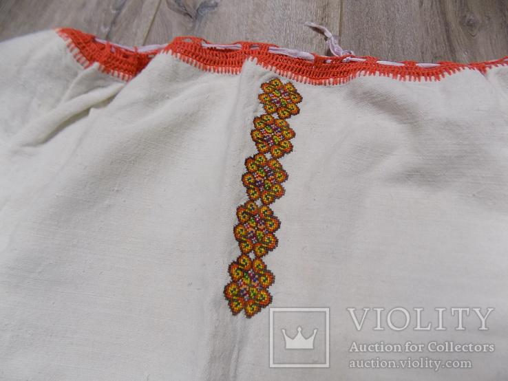 Гуцульська полотняна сорочка, фото №5