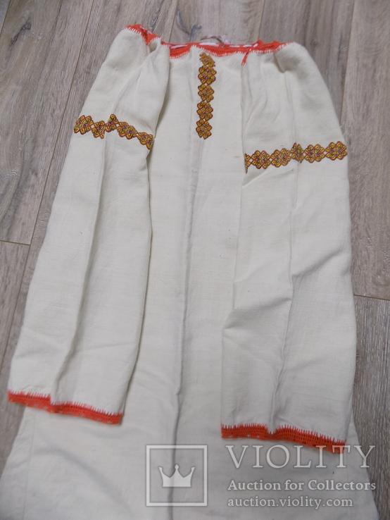 Гуцульська полотняна сорочка, фото №6