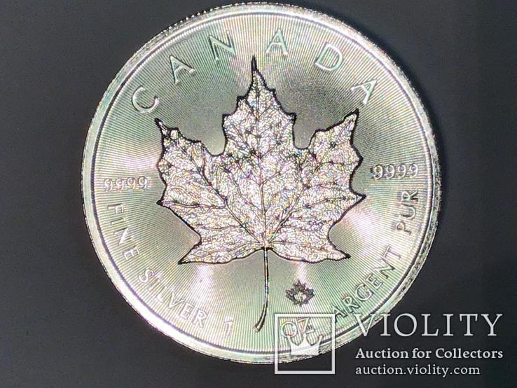 5 долларов Канада 2018 г. Серебро, фото №3