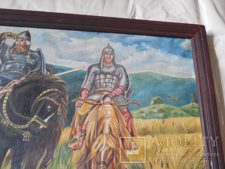Картина три богатыря (копия), фото №4