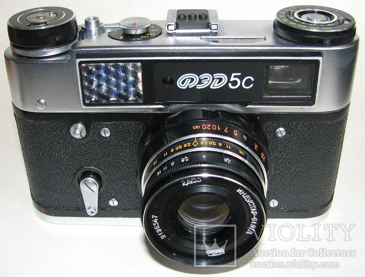 Фотоаппарат ФЕД 5С, фото №7