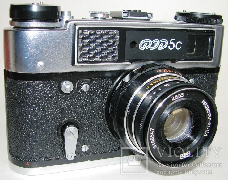 Фотоаппарат ФЕД 5С, фото №8