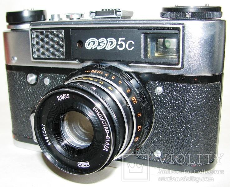 Фотоаппарат ФЕД 5С, фото №9