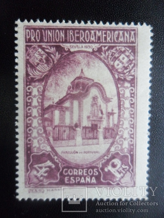Испания. 1930 г. Иберо-Американский Союз.  MNH  67 дол. США, фото №3