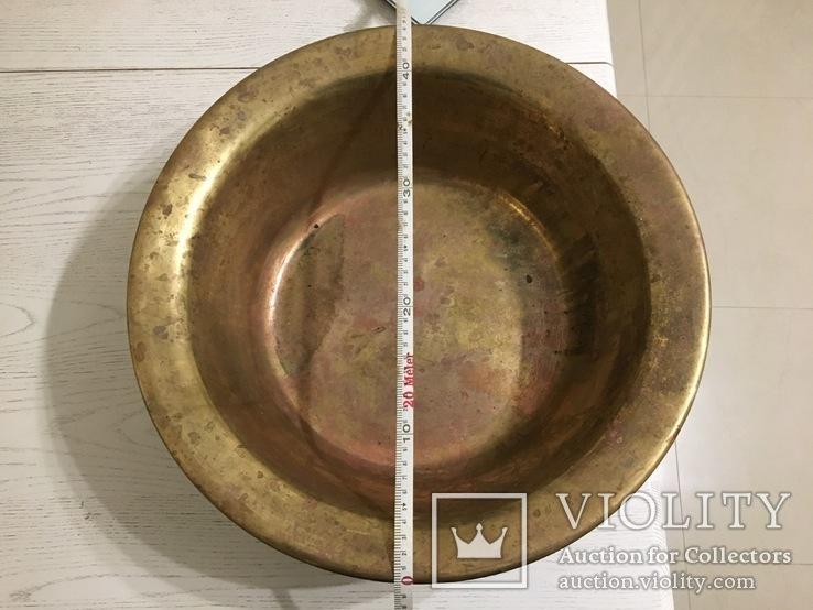 Миска латунная 2,2 кг, фото №4