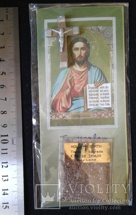 """Релікварій зі Святої Землі """"Господь Вседержитель"""" (""""Спаситель""""), фото №2"""