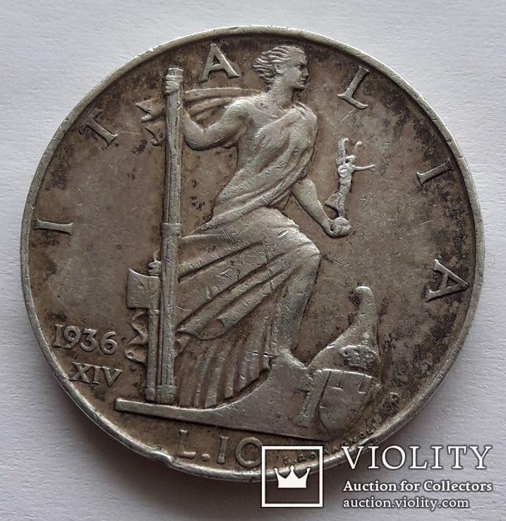 10 лир 1936 г.
