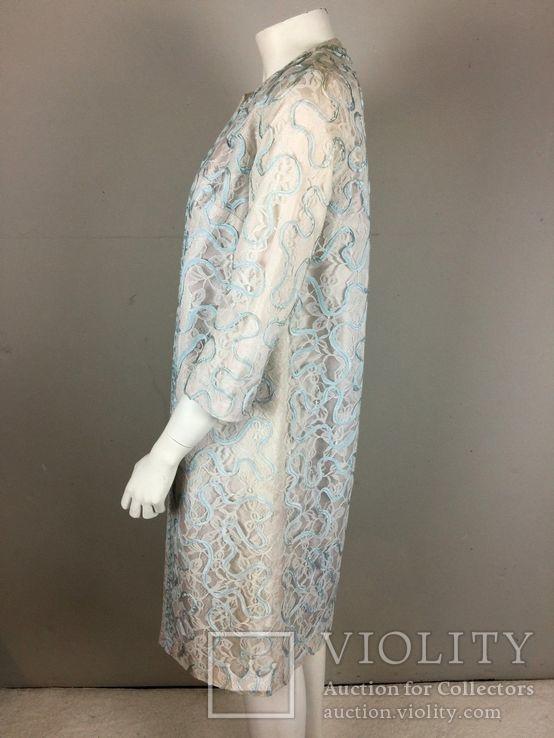 Винтаж 1960 год.США.костюм пальто+платье., фото №6