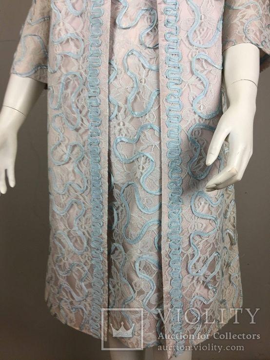 Винтаж 1960 год.США.костюм пальто+платье., фото №7