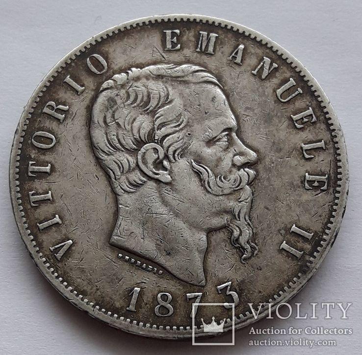 5 лир 1873 г.