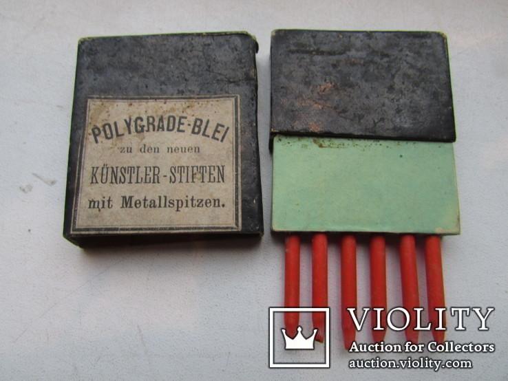 Карандаши по металлу Polygrade Blei Германия до 1917 гпо, фото №2