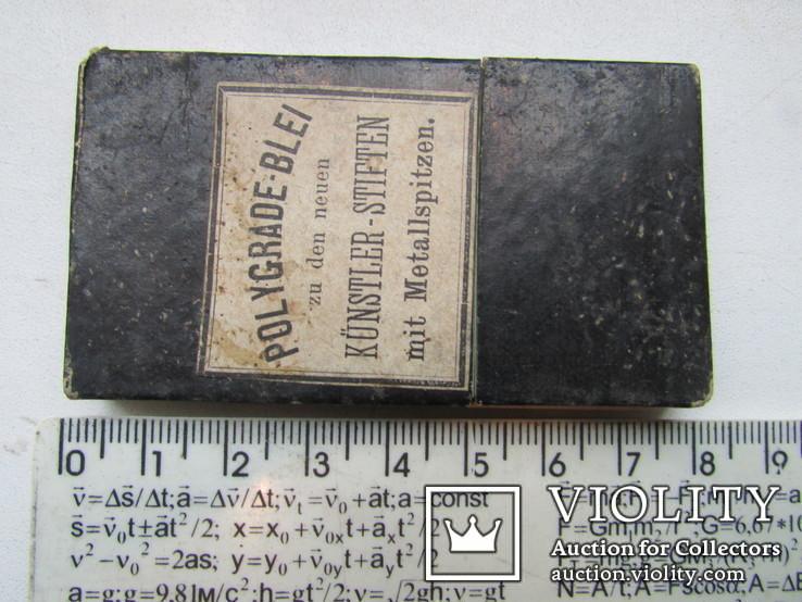 Карандаши по металлу Polygrade Blei Германия до 1917 гпо, фото №6