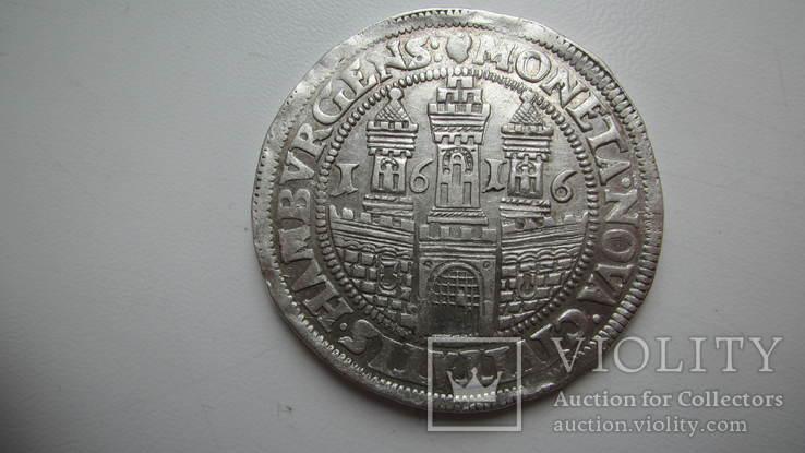 Талер 1616 Гамбург
