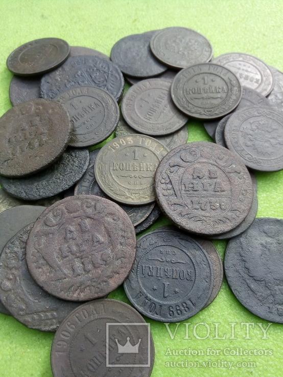 Монеты 32 шт
