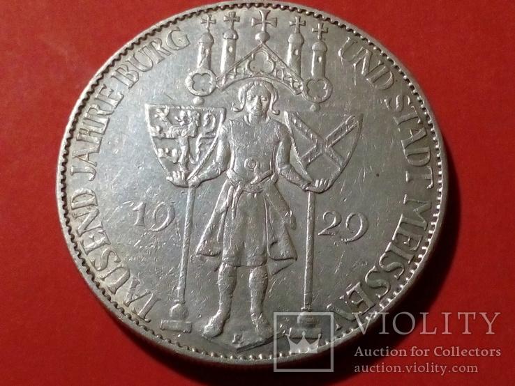 5 марок 1929 Мейсен