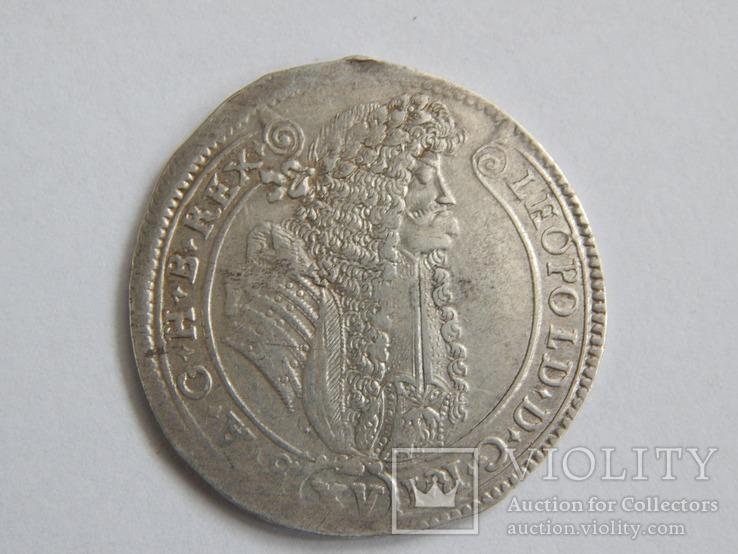 15 крейцерів Леопольд 1688