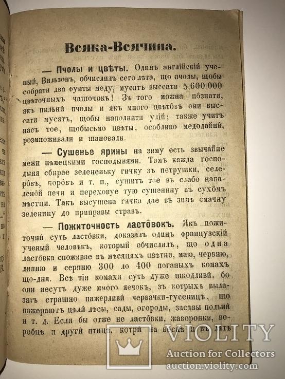 1879 Украинский Венок Читанка для селян, фото №5