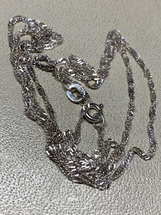 Цепочка серебряная 925 проба 2,06 грам не ношеная