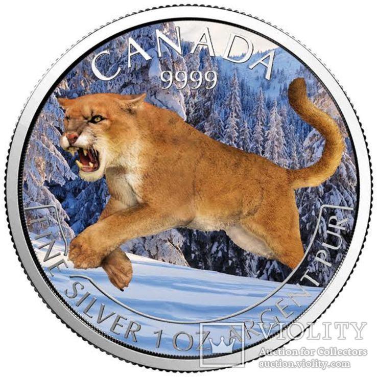 Канада 5 долларов 2016 год. Серебро. Тираж 100 экземпляров, фото №2