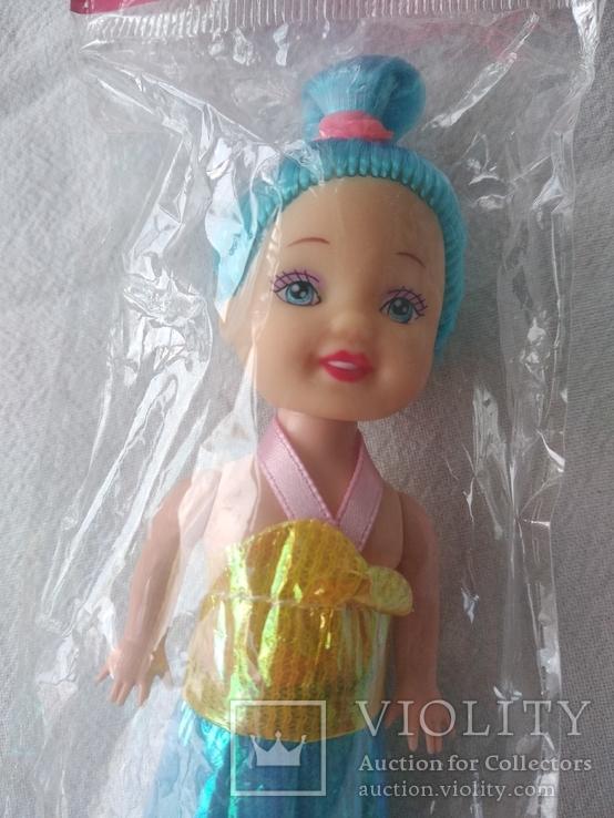 Кукла куколка новая в упаковке 12 см, фото №2
