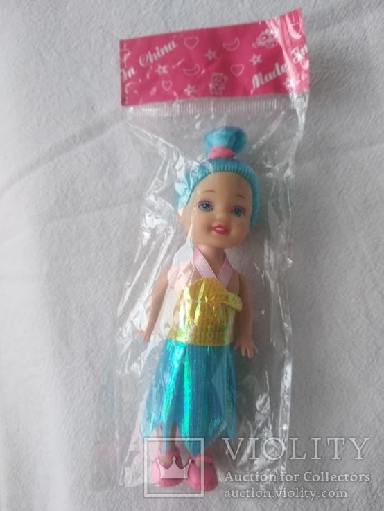 Кукла куколка новая в упаковке 12 см, фото №3