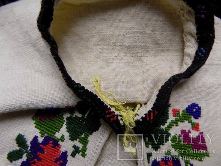 Традиційна чоловіча полотняна сорочка 1920х рр. Борщівський р-н, фото №11