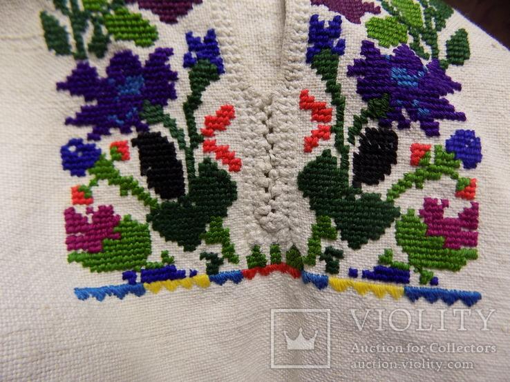 Традиційна чоловіча полотняна сорочка 1920х рр. Борщівський р-н, фото №12