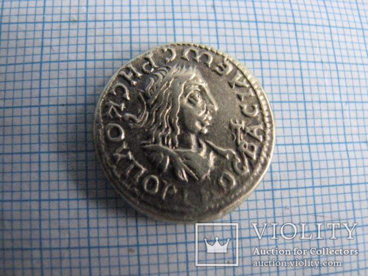 Статер. Рискупорид II  Элагабал   221г. н.э.   618г.  Б.э.  вес - 7,61г