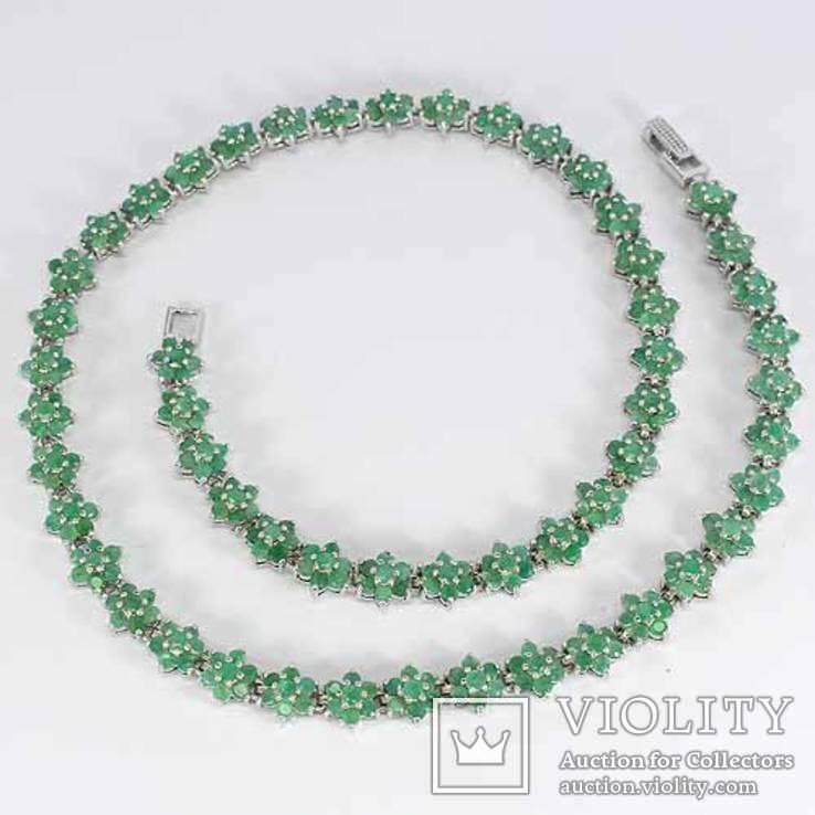 Изумрудное ожерелье, фото №3