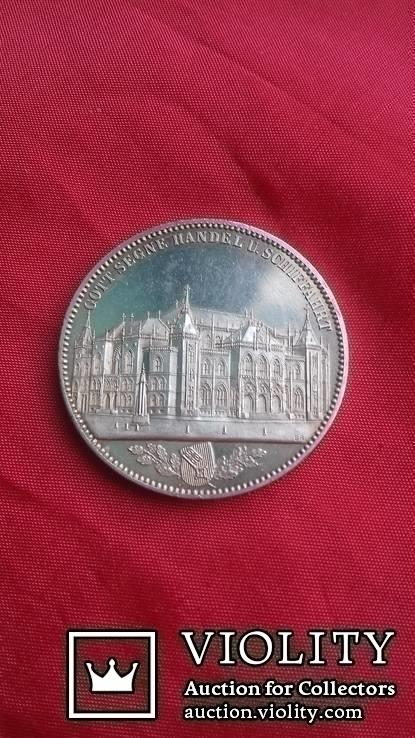 Талер 1864 р. Бремен. Торгова біржа.