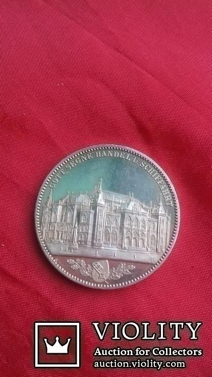 Талер 1864 р. Бремен. Торгова біржа., фото №3