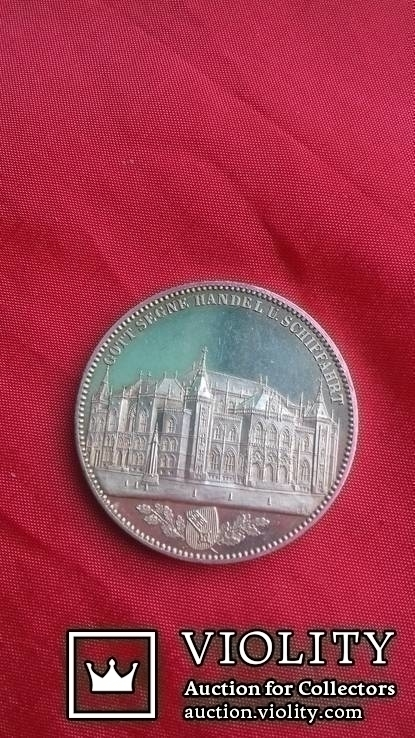 Талер 1864 р. Бремен. Торгова біржа., фото №8