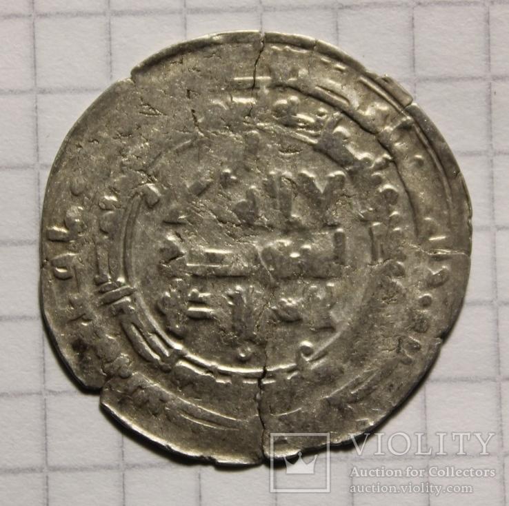 Дирхем Наср б. Ахмад  аш-Шаш 323 г.х.