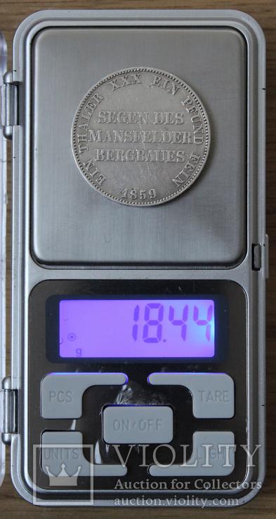 1 талер 1859, фото №7