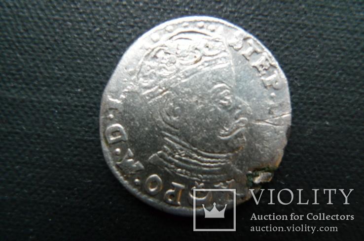 Трояк. 1582 год. Литовский, фото №2