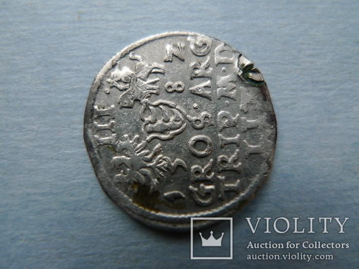 Трояк. 1582 год. Литовский, фото №8