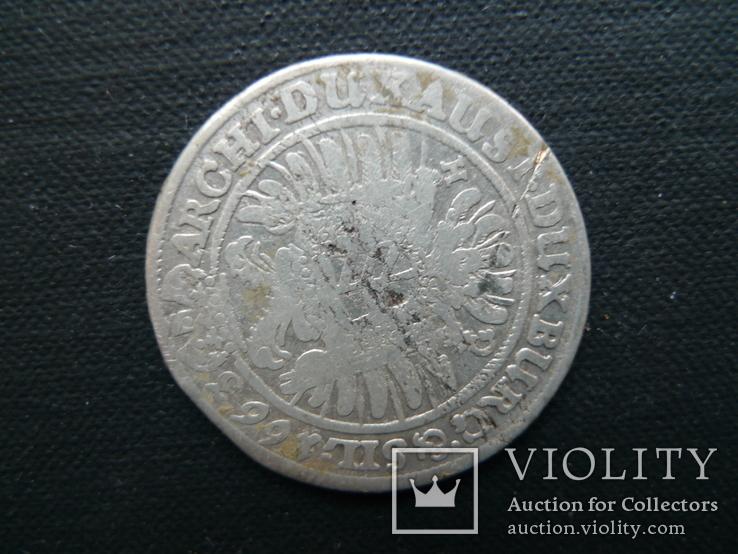 15 крейцеров. 1663 год. Леопольд. Австрия., фото №6