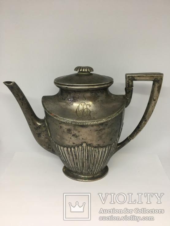 Кофейник (серебро 800 пробы)