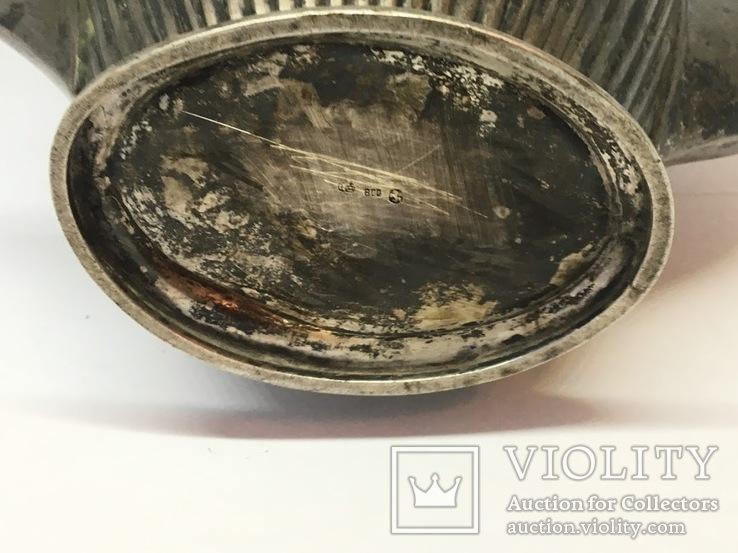 Кофейник (серебро 800 пробы), фото №11