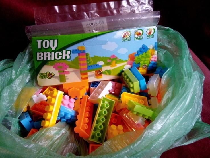 Конструктор Toy brick (тип Лего)