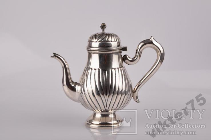 Набор чайный - Чайник-2 шт  Молочник Сахарница Вес-1226грамм, фото №4