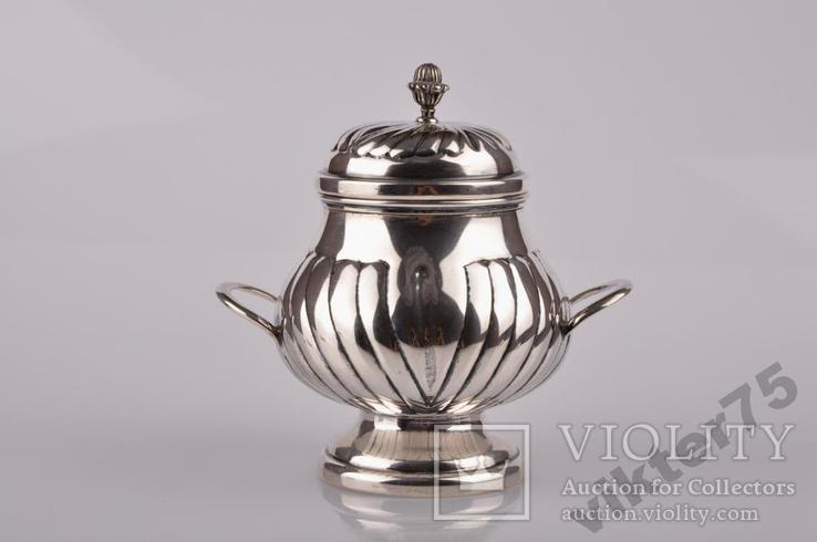 Набор чайный - Чайник-2 шт  Молочник Сахарница Вес-1226грамм, фото №6