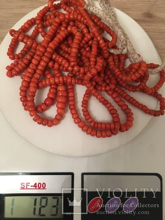 Коралові буси кукурудза