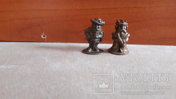 Солдатик Мушкетер и Король киндер металл номерной 4