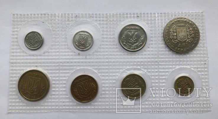 Річний набір обігових монет 1996 року
