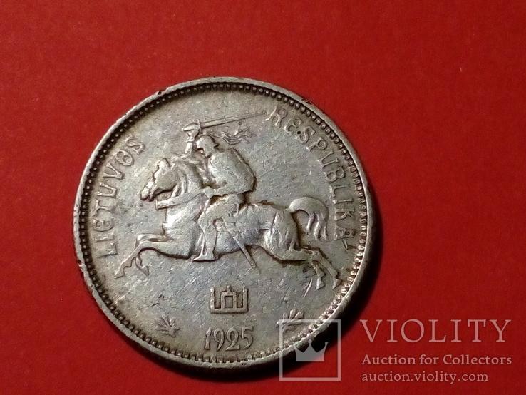 2 лит 1925 Литва