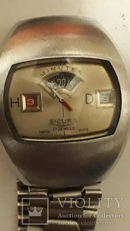 """Швейцарские наручные часы « Sicura"""""""