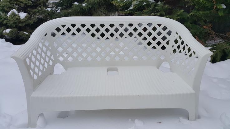 Комплект садовой пластиковой мебели, фото №3