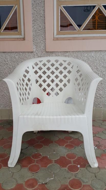 Комплект садовой пластиковой мебели, фото №4