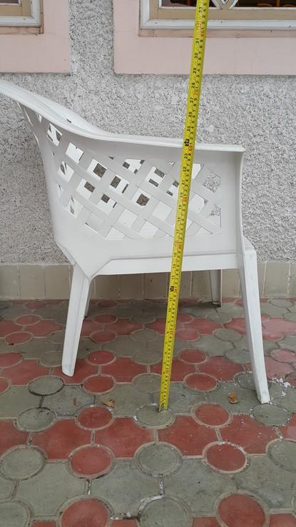 Комплект садовой пластиковой мебели, фото №6